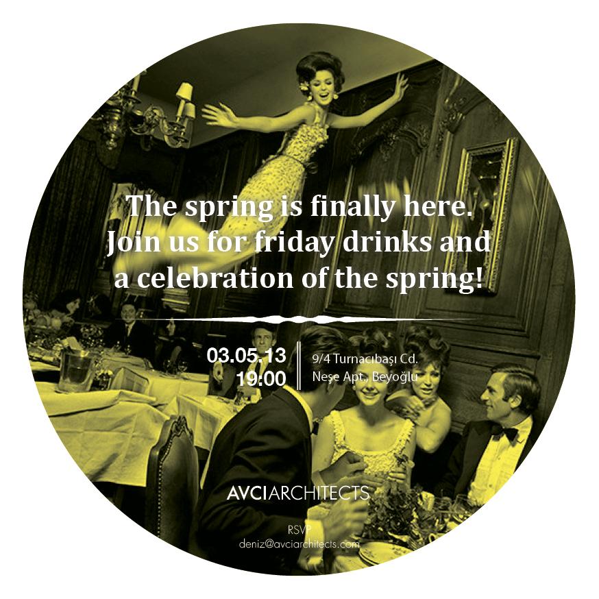 Celebrating the spring