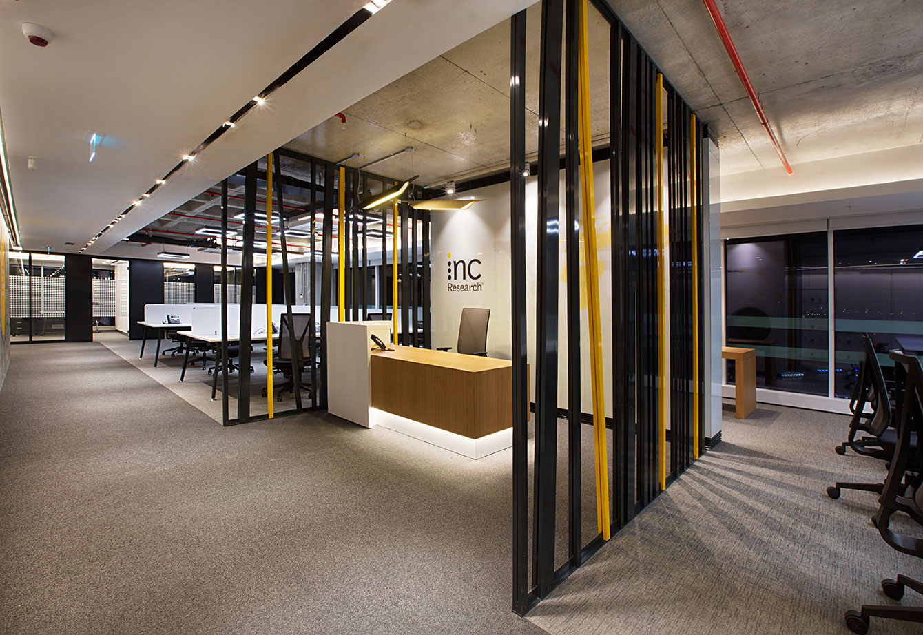 Inc reaserch moved to their new office avci architects R house architecture research office
