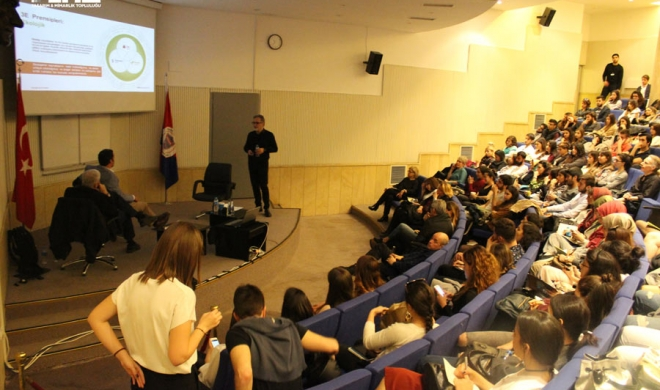 "Selçuk Avcı attended the ""Design Bilkent"" architecture event organized as a speaker"